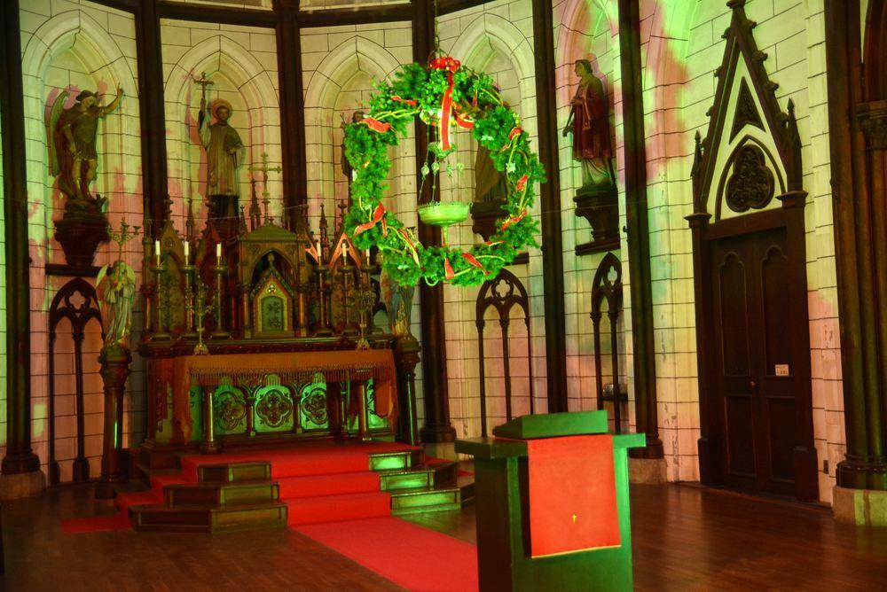 聖ザビエル天主堂内のクリスマスイルミネーション2019(遅まきですが)_e0373930_20591838.jpg