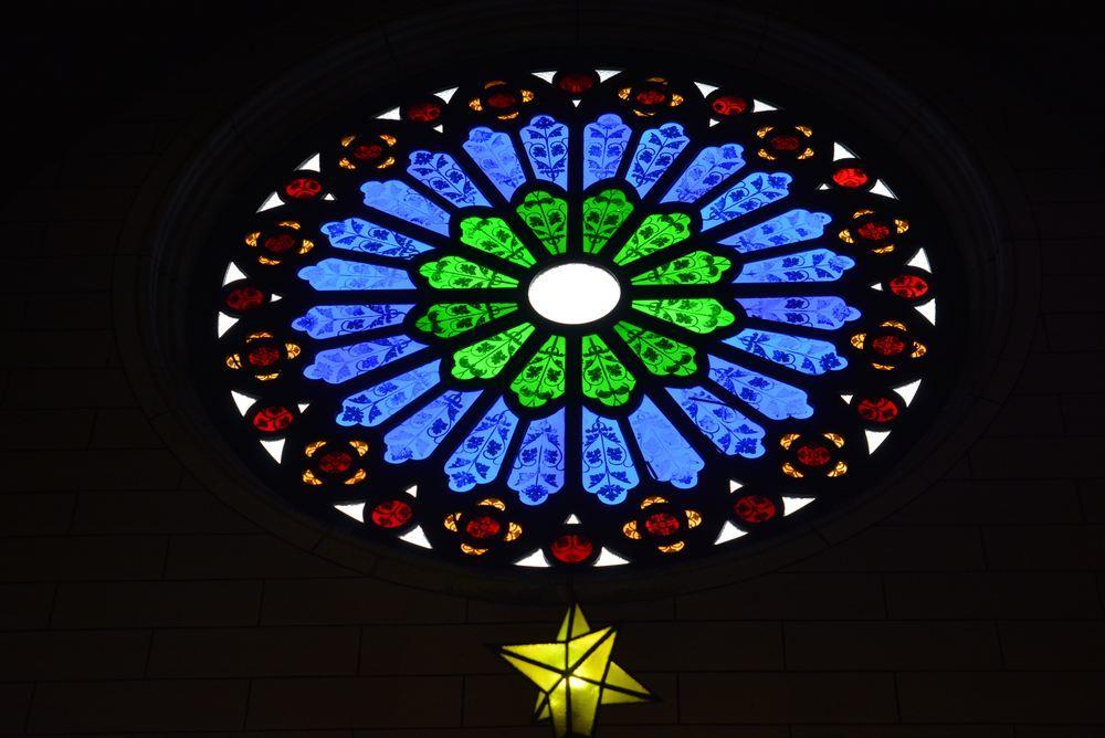聖ザビエル天主堂内のクリスマスイルミネーション2019(遅まきですが)_e0373930_20591848.jpg