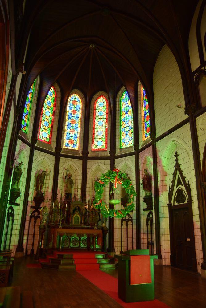 聖ザビエル天主堂内のクリスマスイルミネーション2019(遅まきですが)_e0373930_20591866.jpg