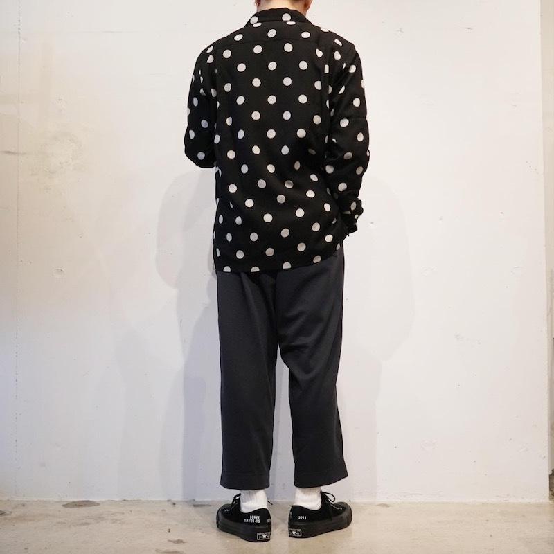 Styles DOTS SHIRT× 太めのパンツ_a0155932_10584144.jpg