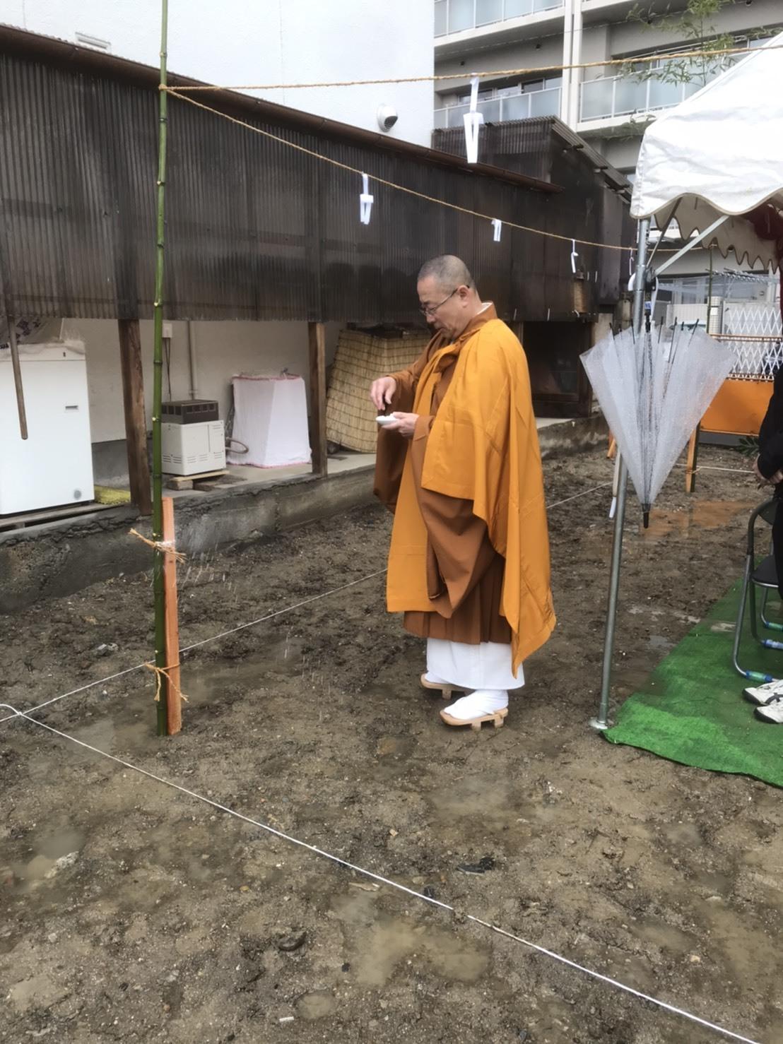 地鎮祭 大津の家_e0330135_16565491.jpg