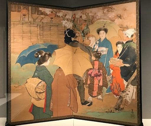 本当にすいていた・雨の嵐山・福田美術館へ。_f0181251_19014858.jpg