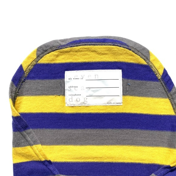 seven seas dog border T shirt セブンシーズドッグ ボーダーTシャツ_d0217958_18403576.jpeg
