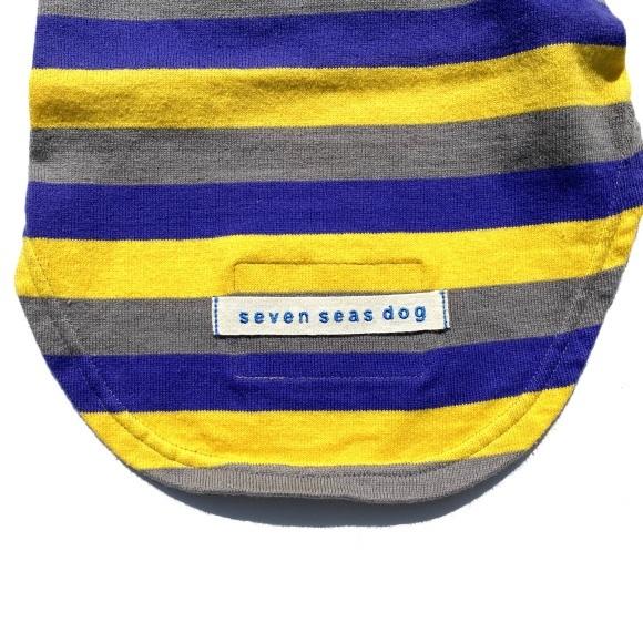 seven seas dog border T shirt セブンシーズドッグ ボーダーTシャツ_d0217958_18403608.jpeg