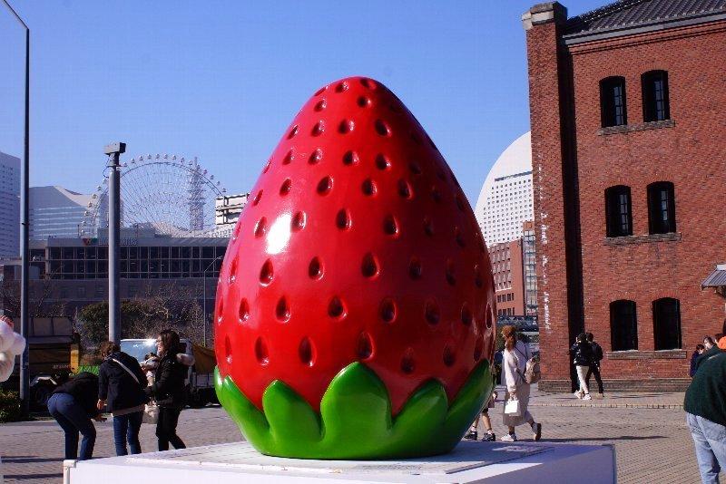 巨大いちごに誘われて☆横浜へ_a0355365_09274750.jpg