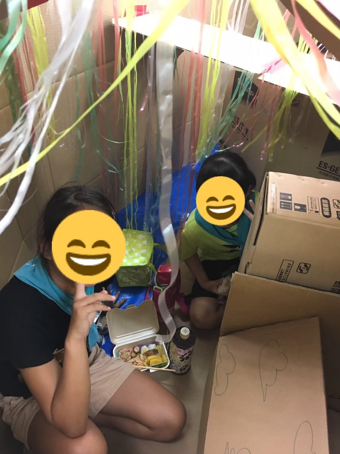 2019/9/8 ダンボールハウス作り_e0123469_20221611.jpeg