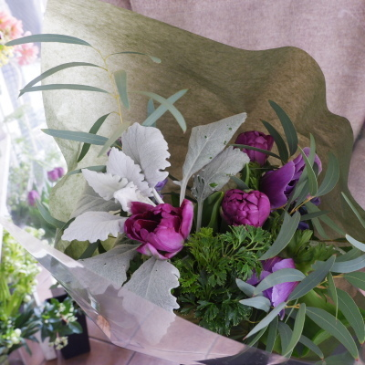 オークリーフ花の教室(落合さんの作品)_f0049672_21133080.jpg