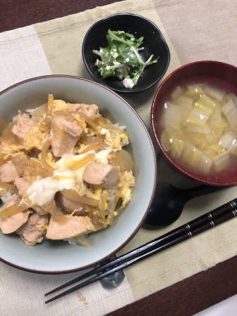 親子丼_d0235108_19054385.jpg