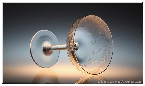 """アール・ヌーヴォー \""""Art Nouveau\"""" シャンパーニュ クープ フランス アンティーク オールドバカラ _d0184921_13301493.jpg"""