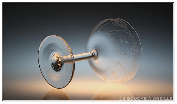"""アール・ヌーヴォー \""""Art Nouveau\"""" シャンパーニュ クープ フランス アンティーク オールドバカラ _d0184921_13302032.jpg"""