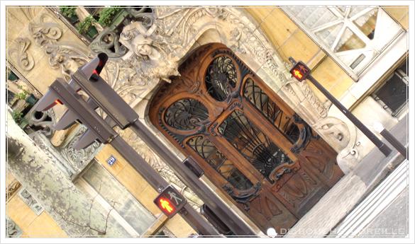 """アール・ヌーヴォー \""""Art Nouveau\"""" シャンパーニュ クープ フランス アンティーク オールドバカラ _d0184921_13370717.jpg"""