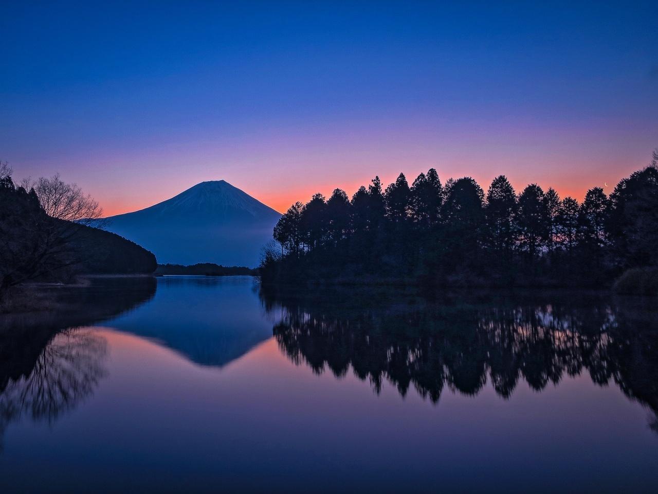 2020.2.21逆さ富士(田貫湖)_e0321032_16392462.jpg