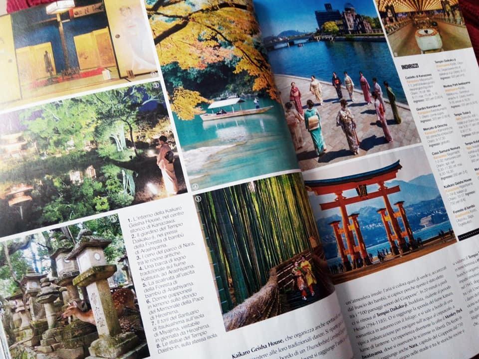 イタリアで日本を紹介する旅雑誌が発売されました。_b0305039_00422862.jpg