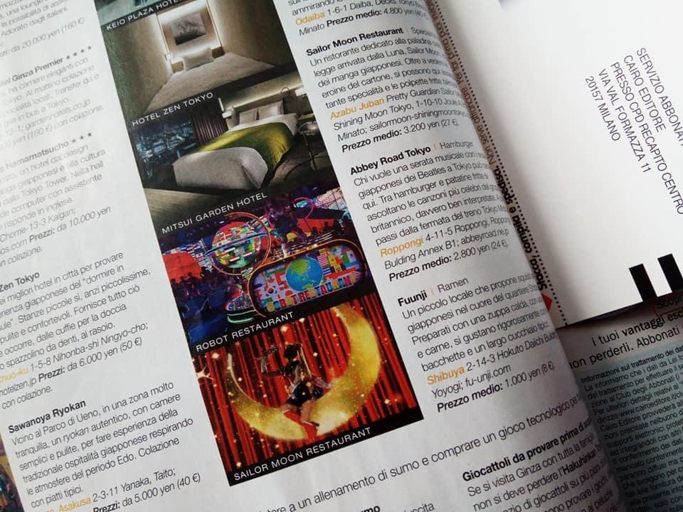 イタリアで日本を紹介する旅雑誌が発売されました。_b0305039_00424403.jpg