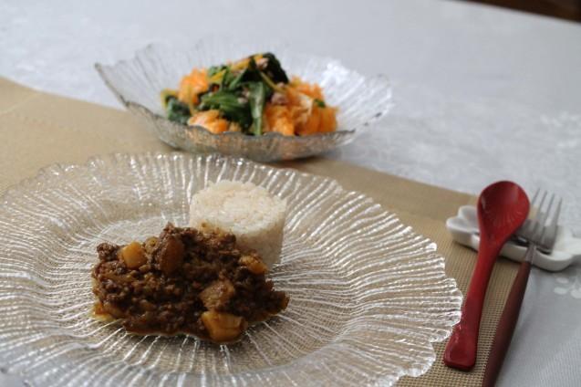 子供料理教室で人気の「ドライカレー」_d0377645_23313345.jpg