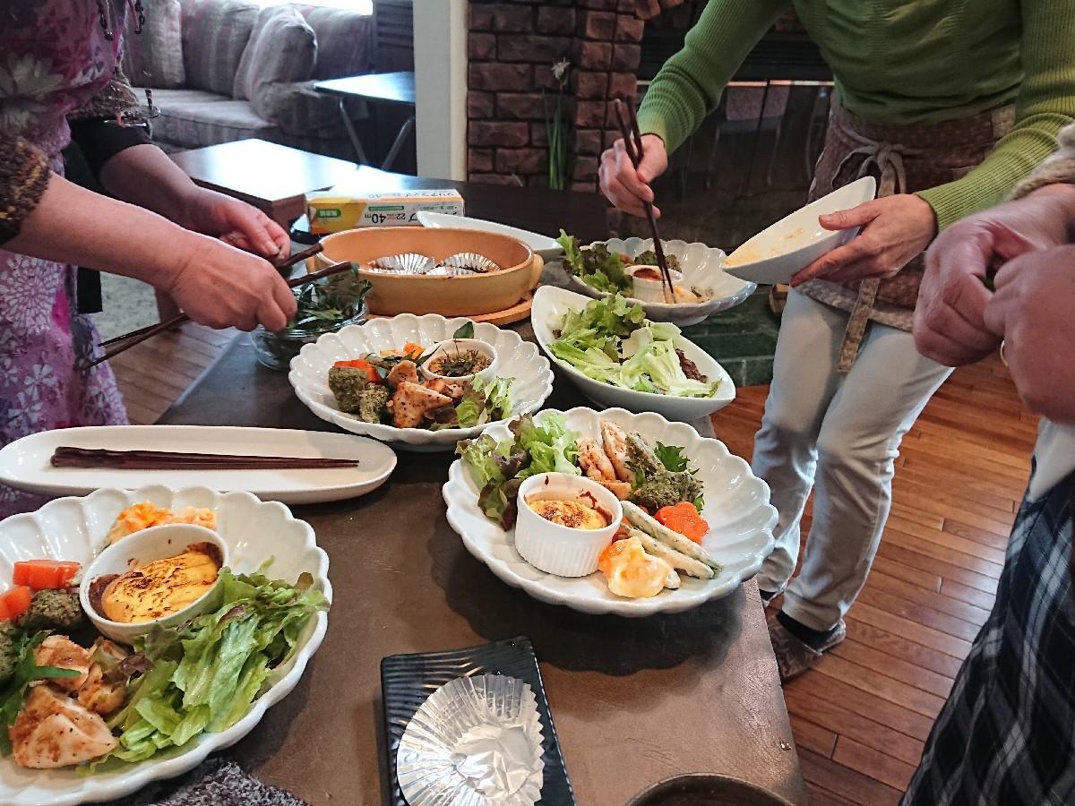 「優しい時間」第3週の料理教室_f0323446_15231059.jpg