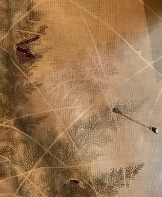 新年会・素敵な訪問着に夾纈(きょうけち)刺繍帯・猫の日_f0181251_15522175.jpg