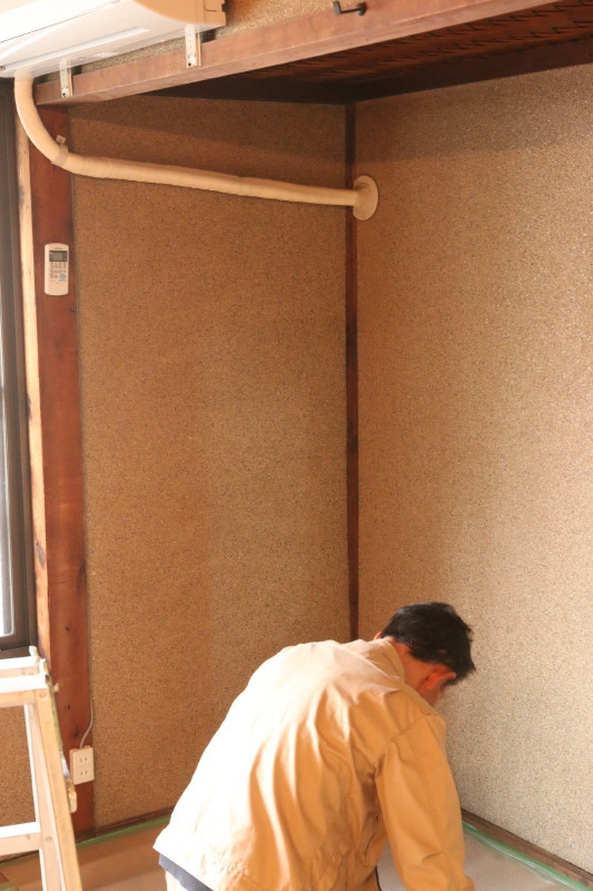 イカシタ壁(珪藻土)と作品展示と TANEYA2階 なごみの華 _c0074553_10281411.jpg