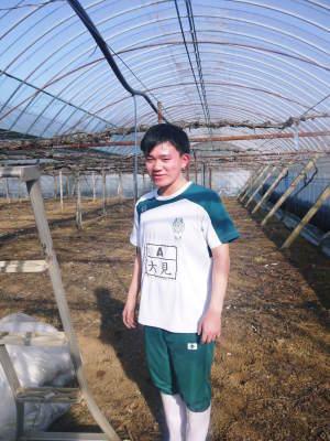 熊本ぶどう 社方園 ハウスの内張り作業を熊本農業高校からの農業実習と共に行っています(2020)後編_a0254656_17062944.jpg