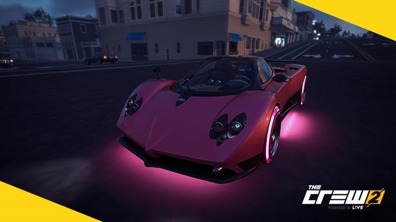 ゲーム「THE CREW2 狂気のピンク野郎になりました&新たに痛車作成中」_b0362459_12524408.jpg