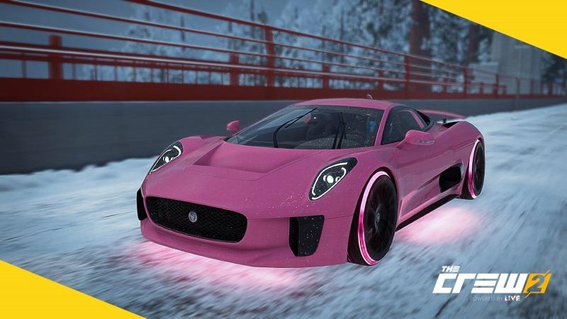 ゲーム「THE CREW2 狂気のピンク野郎になりました&新たに痛車作成中」_b0362459_13113224.jpg
