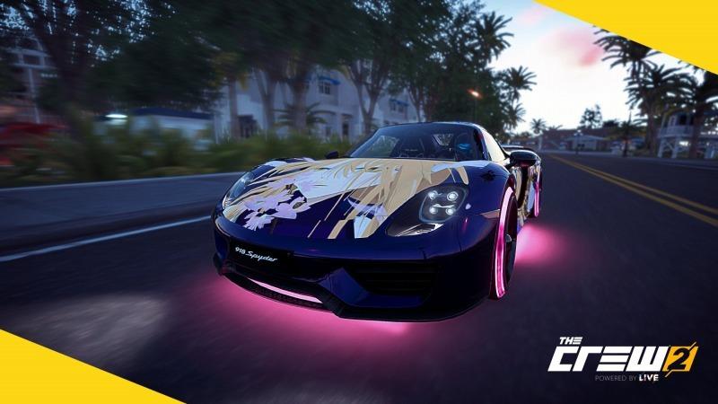 ゲーム「THE CREW2 狂気のピンク野郎になりました&新たに痛車作成中」_b0362459_13173048.jpg
