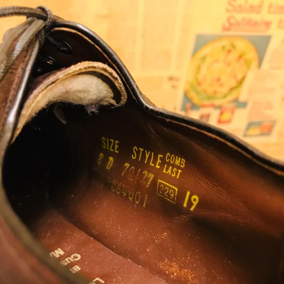 革靴担当の革靴補強‼️‼️_a0108963_03114216.jpg