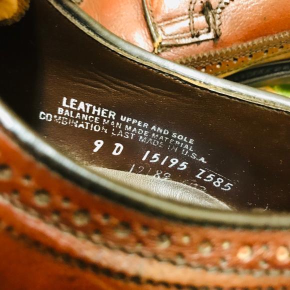革靴担当の革靴補強‼️‼️_a0108963_03174850.jpg