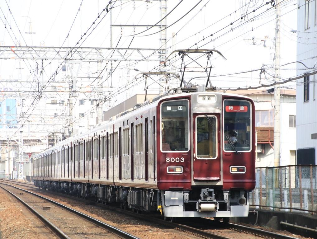 阪急8000系 8003F _d0202264_126680.jpg
