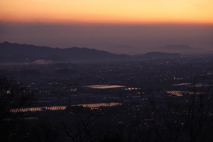 太田金山からの朝景(2) (2020/2/15撮影)_b0369971_13225063.jpg