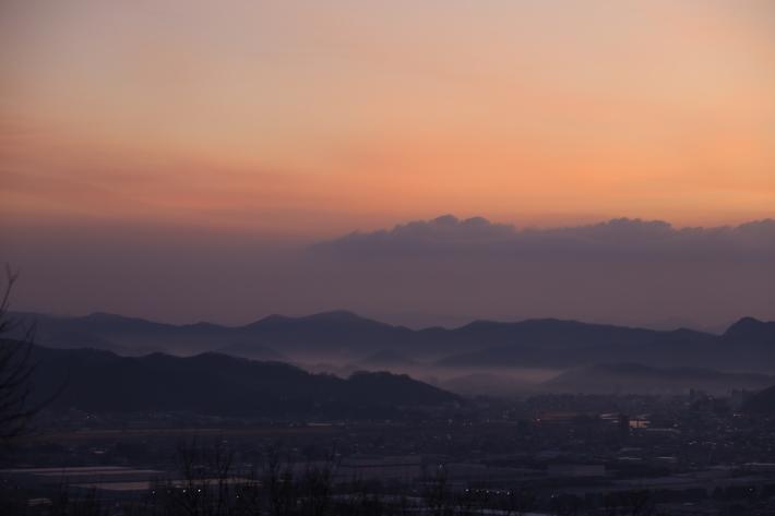 太田金山からの朝景(2) (2020/2/15撮影)_b0369971_13240874.jpg
