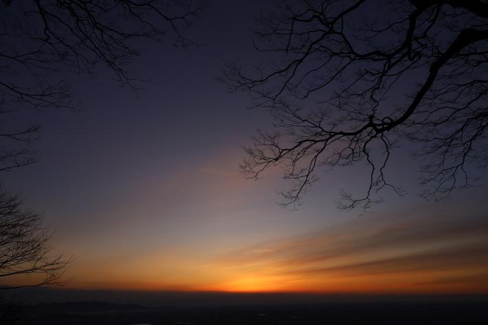 太田金山からの朝景(3) (2020/2/15撮影)_b0369971_13442565.jpg