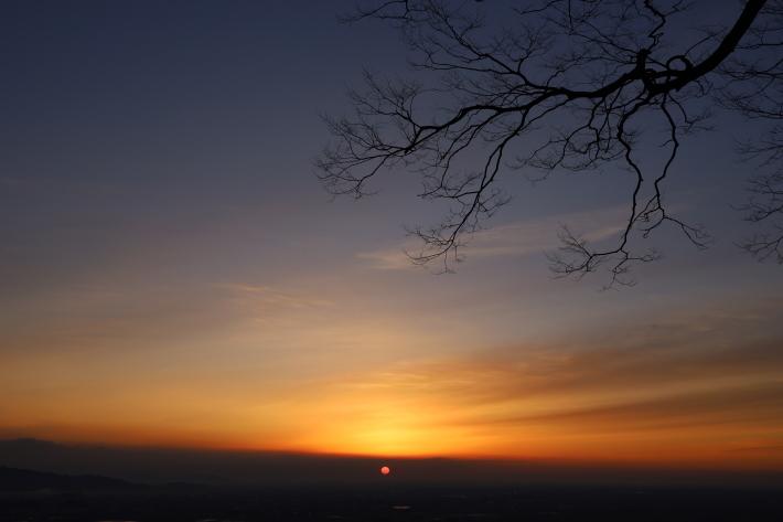 太田金山からの朝景(3) (2020/2/15撮影)_b0369971_13445633.jpg