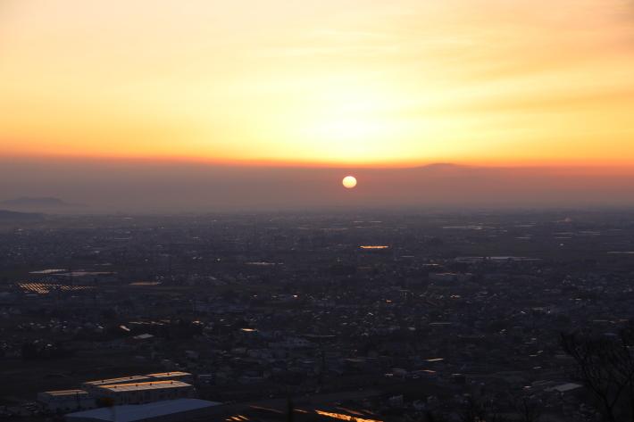 太田金山からの朝景(3) (2020/2/15撮影)_b0369971_13453910.jpg