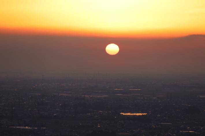 太田金山からの朝景(3) (2020/2/15撮影)_b0369971_13455160.jpg