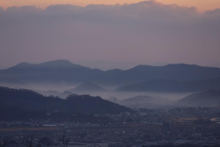 太田金山からの朝景(3) (2020/2/15撮影)_b0369971_13460239.jpg