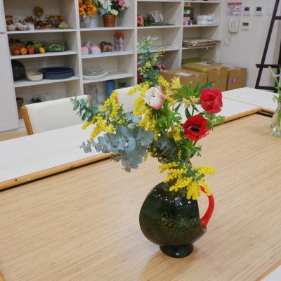 オークリーフ(絵画教室の花13)_f0049672_17381964.jpg