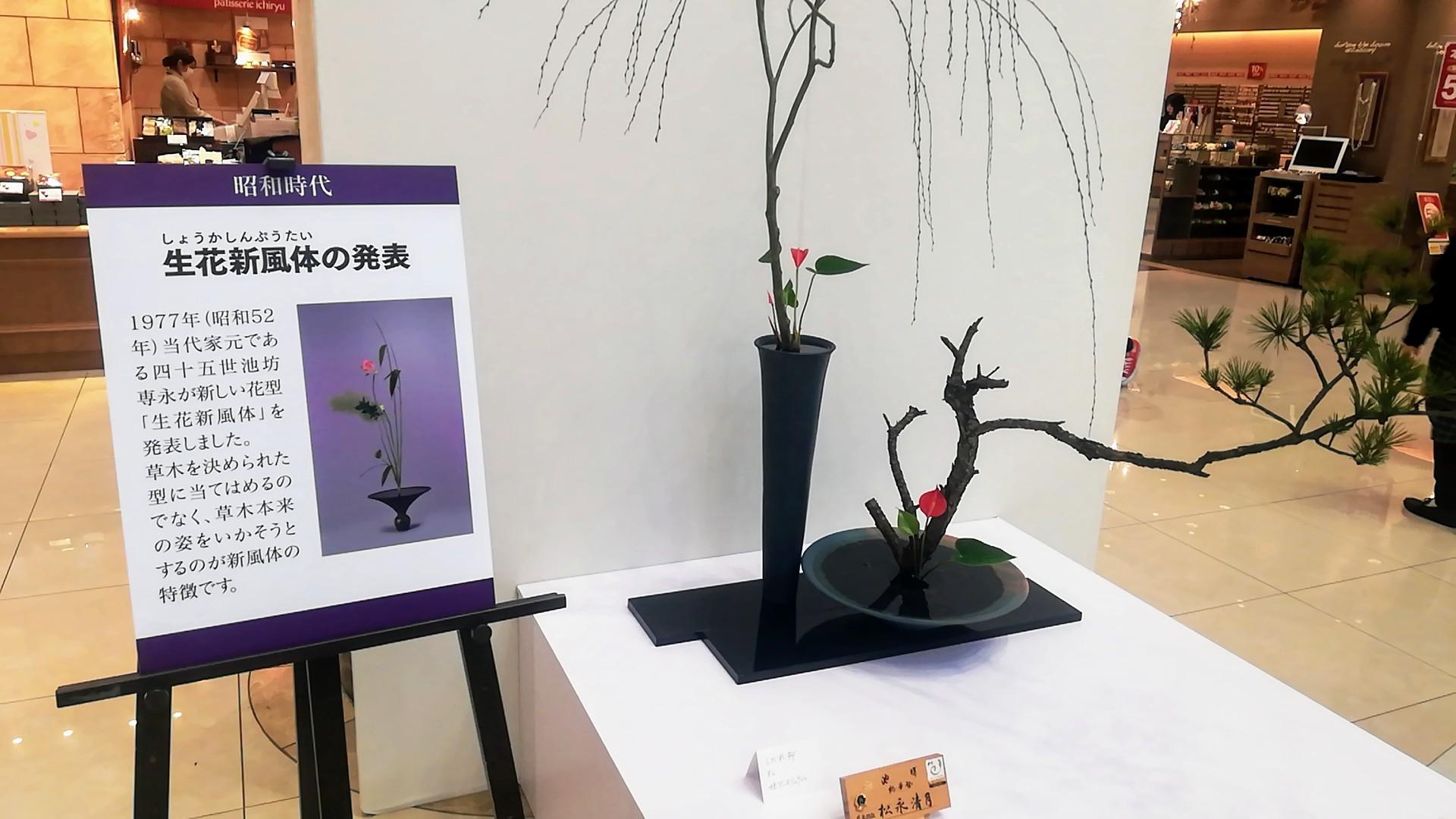 ゆめタウン佐賀開催の池坊展へ_d0195183_20130609.jpg