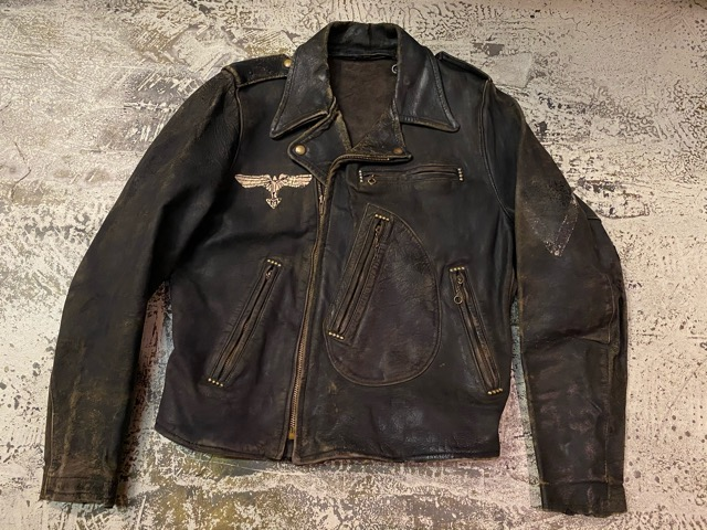2月26日(水)マグネッツ大阪店ヴィンテージ入荷!!#3 Leather編! D-Pkt MC & Horsehide BallChain、SportsJKT、RED WING Engineer!!_c0078587_0581715.jpg