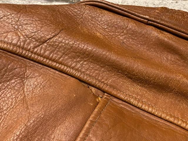 2月26日(水)マグネッツ大阪店ヴィンテージ入荷!!#3 Leather編! D-Pkt MC & Horsehide BallChain、SportsJKT、RED WING Engineer!!_c0078587_1132263.jpg