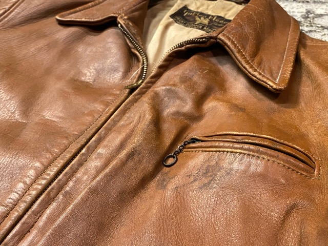 2月26日(水)マグネッツ大阪店ヴィンテージ入荷!!#3 Leather編! D-Pkt MC & Horsehide BallChain、SportsJKT、RED WING Engineer!!_c0078587_1135143.jpg