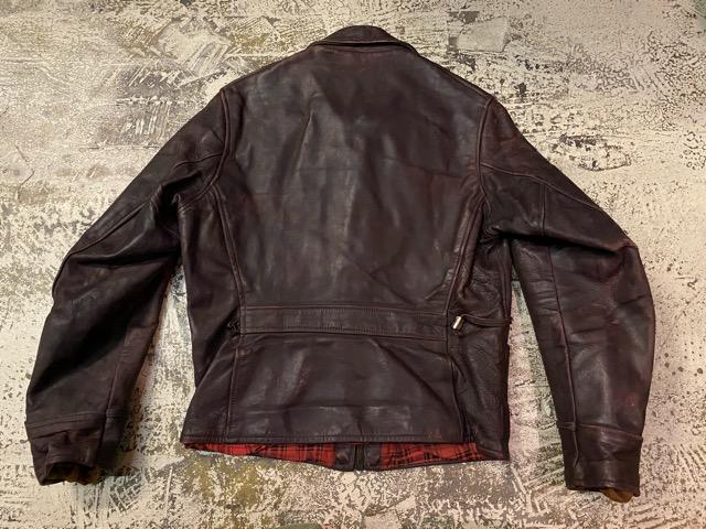 2月26日(水)マグネッツ大阪店ヴィンテージ入荷!!#3 Leather編! D-Pkt MC & Horsehide BallChain、SportsJKT、RED WING Engineer!!_c0078587_1145493.jpg