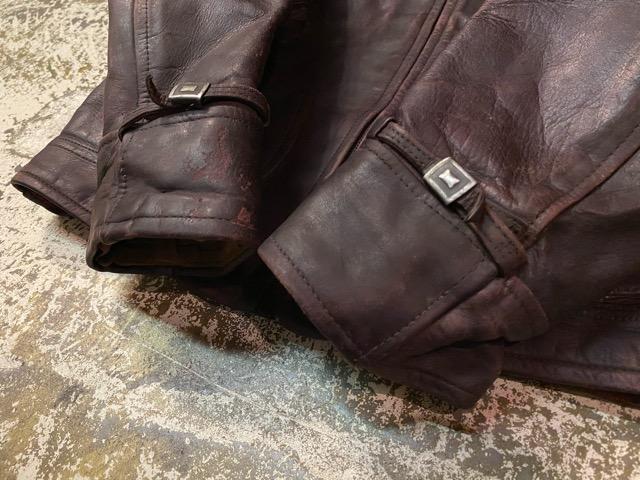 2月26日(水)マグネッツ大阪店ヴィンテージ入荷!!#3 Leather編! D-Pkt MC & Horsehide BallChain、SportsJKT、RED WING Engineer!!_c0078587_1162061.jpg