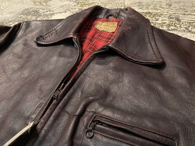 2月26日(水)マグネッツ大阪店ヴィンテージ入荷!!#3 Leather編! D-Pkt MC & Horsehide BallChain、SportsJKT、RED WING Engineer!!_c0078587_1171866.jpg