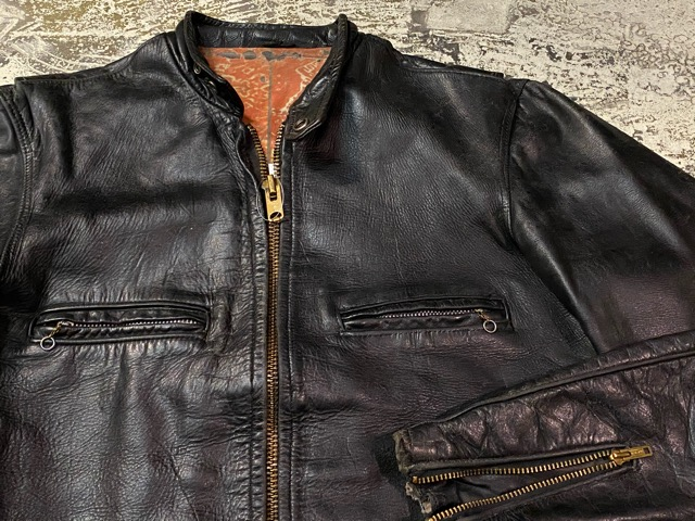 2月26日(水)マグネッツ大阪店ヴィンテージ入荷!!#3 Leather編! D-Pkt MC & Horsehide BallChain、SportsJKT、RED WING Engineer!!_c0078587_1182118.jpg