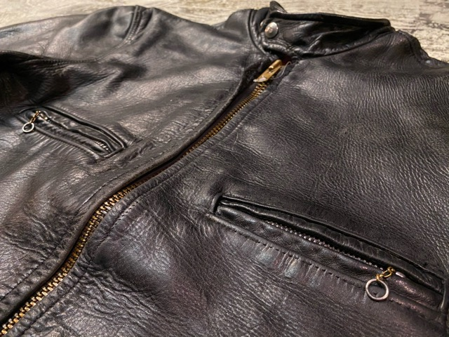 2月26日(水)マグネッツ大阪店ヴィンテージ入荷!!#3 Leather編! D-Pkt MC & Horsehide BallChain、SportsJKT、RED WING Engineer!!_c0078587_1195827.jpg