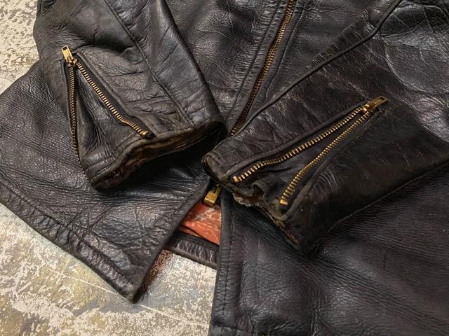 2月26日(水)マグネッツ大阪店ヴィンテージ入荷!!#3 Leather編! D-Pkt MC & Horsehide BallChain、SportsJKT、RED WING Engineer!!_c0078587_120457.jpg