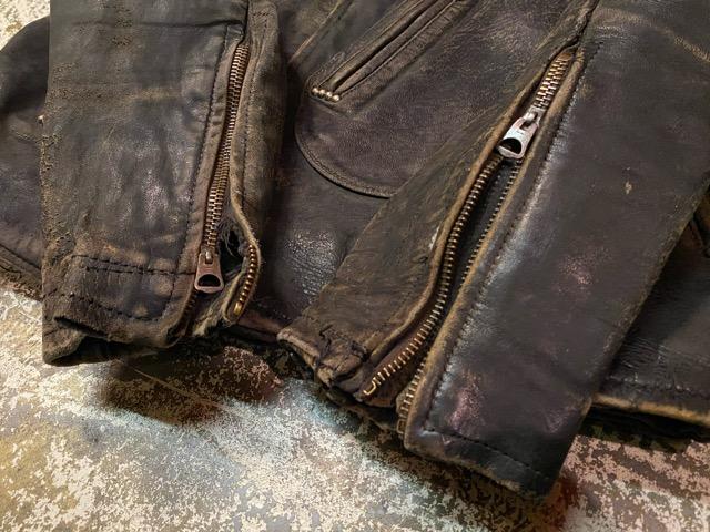 2月26日(水)マグネッツ大阪店ヴィンテージ入荷!!#3 Leather編! D-Pkt MC & Horsehide BallChain、SportsJKT、RED WING Engineer!!_c0078587_123555.jpg