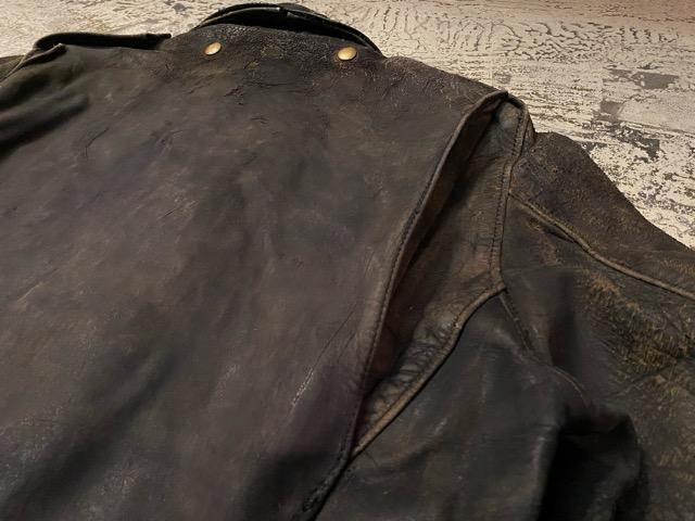 2月26日(水)マグネッツ大阪店ヴィンテージ入荷!!#3 Leather編! D-Pkt MC & Horsehide BallChain、SportsJKT、RED WING Engineer!!_c0078587_132596.jpg