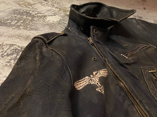 2月26日(水)マグネッツ大阪店ヴィンテージ入荷!!#3 Leather編! D-Pkt MC & Horsehide BallChain、SportsJKT、RED WING Engineer!!_c0078587_134371.jpg